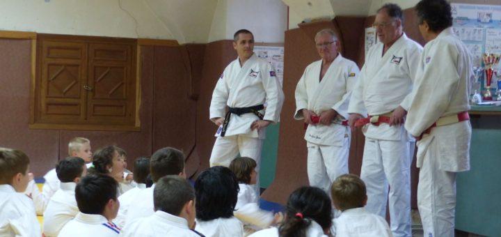 Deux 7eme dan sur les tatamis de Figeac judo